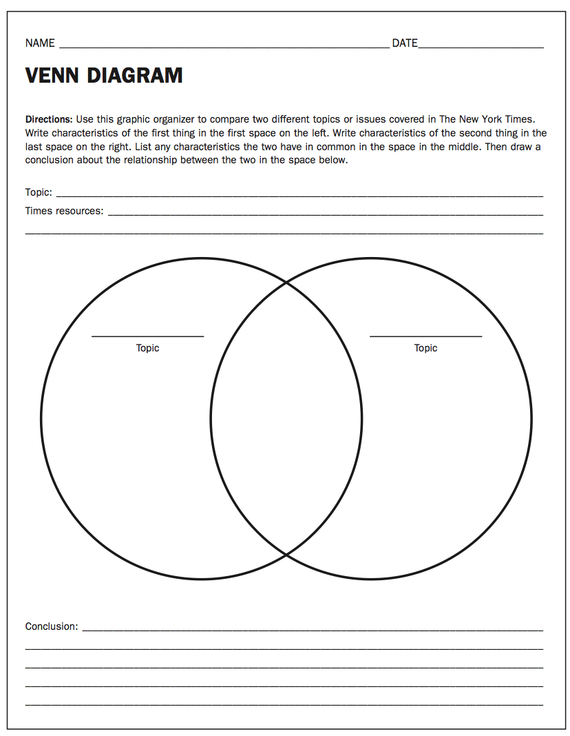 Venn Diagram Pdf Download
